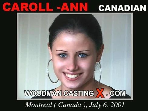 Caroll - Ann - `Caroll - Ann casting` - by Pierre Woodman for WOODMANCASTINGX