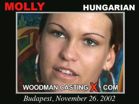 Molly - `Molly casting` - by Pierre Woodman for WOODMANCASTINGX