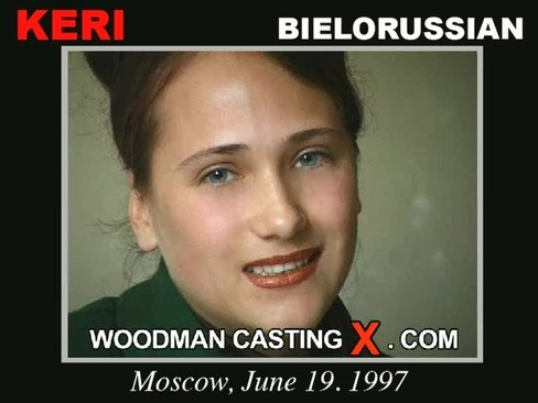 Keri - `Keri casting` - by Pierre Woodman for WOODMANCASTINGX