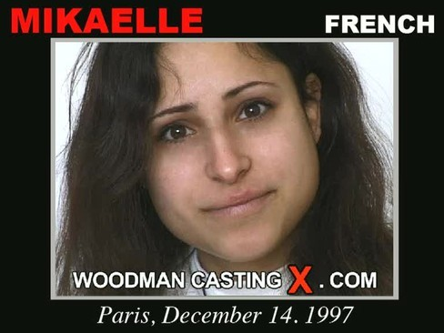 Mikaelle - `Mikaelle casting` - by Pierre Woodman for WOODMANCASTINGX