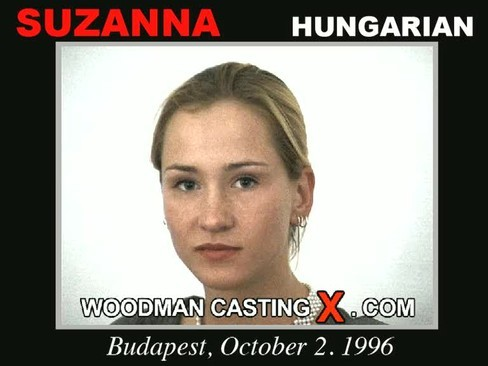 Suzanna - `Suzanna casting` - by Pierre Woodman for WOODMANCASTINGX