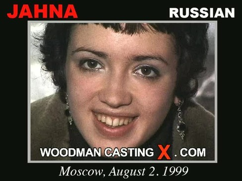 Jahna - `Jahna casting` - by Pierre Woodman for WOODMANCASTINGX