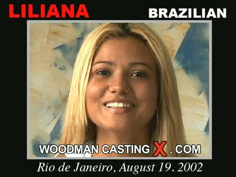 Liliana - `Liliana casting` - by Pierre Woodman for WOODMANCASTINGX
