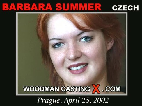 Barbara Summer - `Barbara Summer casting` - by Pierre Woodman for WOODMANCASTINGX