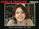 Axelle Mugler casting