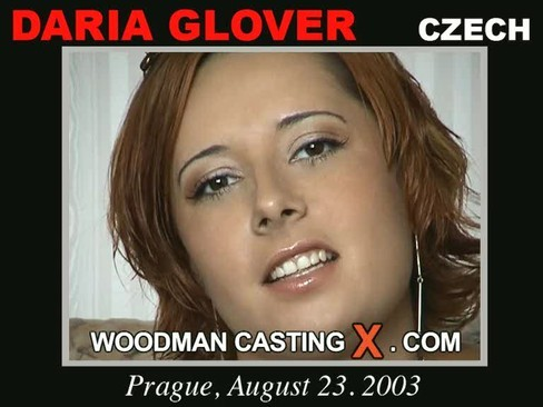 Daria Glover - `Daria Glover casting` - by Pierre Woodman for WOODMANCASTINGX