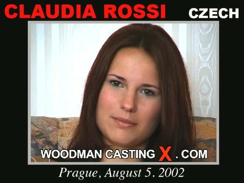 Claudia Rossi - `Claudia Rossi casting` - by Pierre Woodman for WOODMANCASTINGX