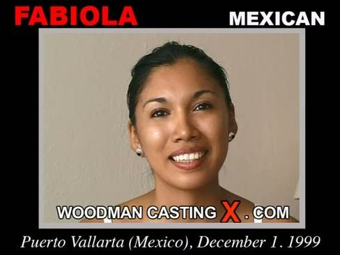 Fabiola - `Fabiola casting` - by Pierre Woodman for WOODMANCASTINGX