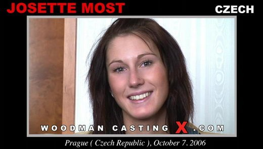Josette Most - `Josette Most casting` - by Pierre Woodman for WOODMANCASTINGX