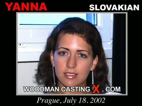 Yanna - `Yanna casting` - by Pierre Woodman for WOODMANCASTINGX