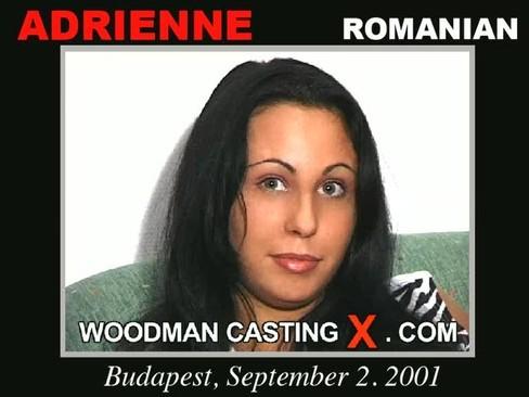 Adrienne - `Adrienne casting` - by Pierre Woodman for WOODMANCASTINGX