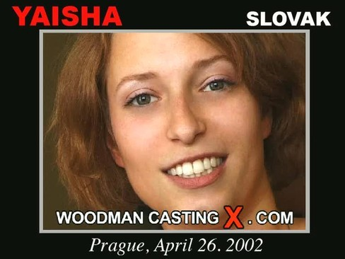 Yaisha - `Yaisha casting` - by Pierre Woodman for WOODMANCASTINGX