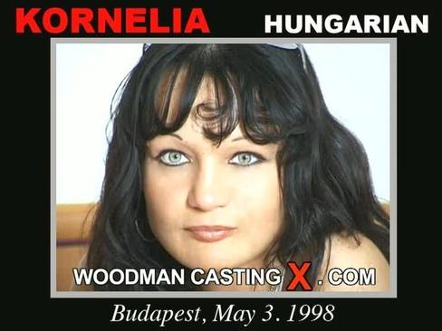 Kornelia - `Kornelia casting` - by Pierre Woodman for WOODMANCASTINGX