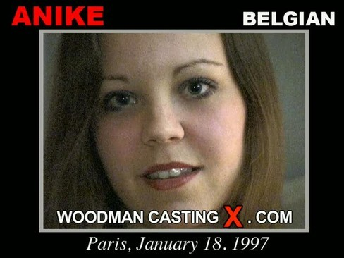 Anike - `Anike casting` - by Pierre Woodman for WOODMANCASTINGX