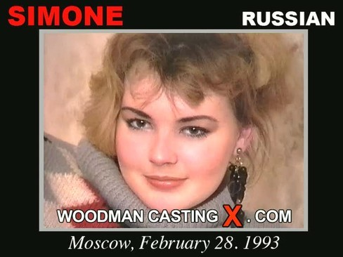 Simone - `Simone casting` - by Pierre Woodman for WOODMANCASTINGX