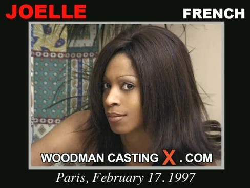Joelle - `Joelle casting` - by Pierre Woodman for WOODMANCASTINGX