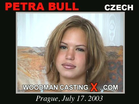 Petral Bull - `Petra Bull casting` - by Pierre Woodman for WOODMANCASTINGX