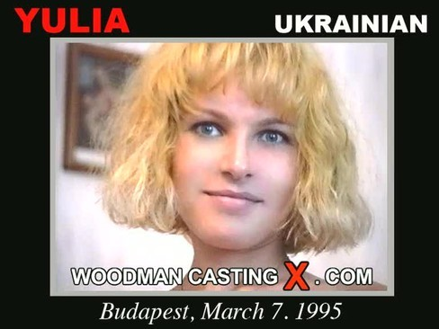 Yulia - `Yulia casting` - by Pierre Woodman for WOODMANCASTINGX