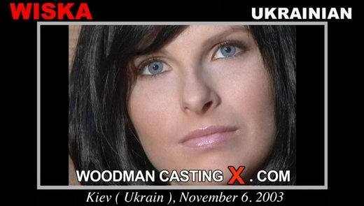 Wiska - `Wiska casting` - by Pierre Woodman for WOODMANCASTINGX