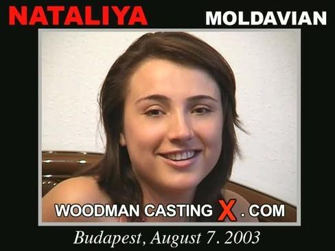 Nataliya - `Nataliya casting` - by Pierre Woodman for WOODMANCASTINGX