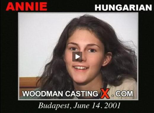 Annie - `Annie casting` - by Pierre Woodman for WOODMANCASTINGX
