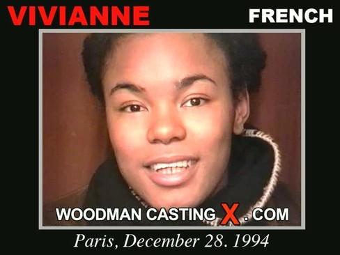 Vivianne - `Vivianne casting` - by Pierre Woodman for WOODMANCASTINGX