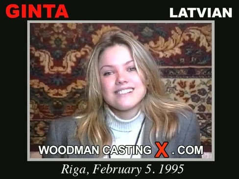 Ginta - `Ginta casting` - by Pierre Woodman for WOODMANCASTINGX