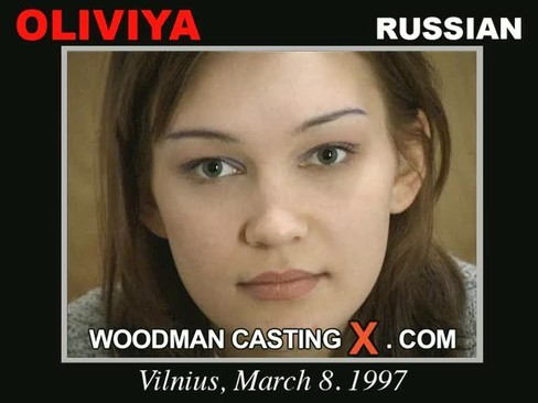 Oliviya - `Oliviya casting` - by Pierre Woodman for WOODMANCASTINGX