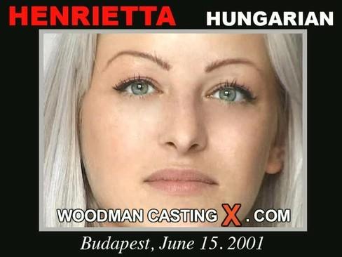 Henrietta - `Henrietta casting` - by Pierre Woodman for WOODMANCASTINGX