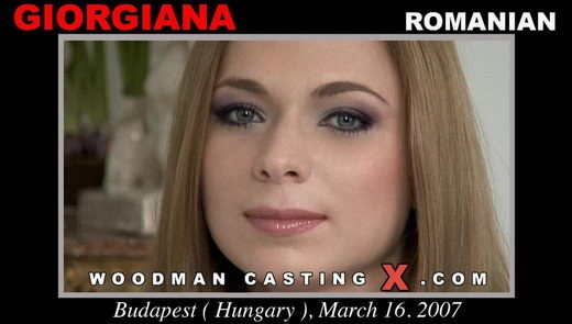 Giorgiana - `Giorgiana casting` - by Pierre Woodman for WOODMANCASTINGX