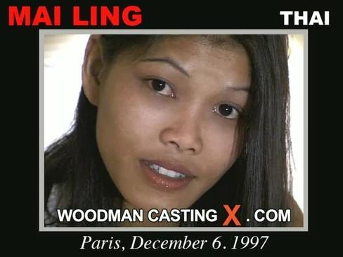 Mai Ling - `Mai Ling casting` - by Pierre Woodman for WOODMANCASTINGX