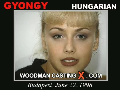 Gyongy - `Gyongy casting` - by Pierre Woodman for WOODMANCASTINGX