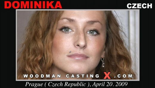 Dominika - `Dominika casting` - by Pierre Woodman for WOODMANCASTINGX