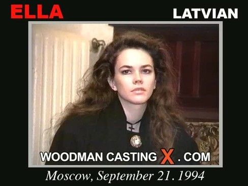 Ella - `Ella casting` - by Pierre Woodman for WOODMANCASTINGX