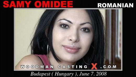 Samy Omidee - `Samy Omidee casting` - by Pierre Woodman for WOODMANCASTINGX