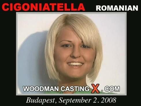 Cigogniatella - `Cigogniatella casting` - by Pierre Woodman for WOODMANCASTINGX