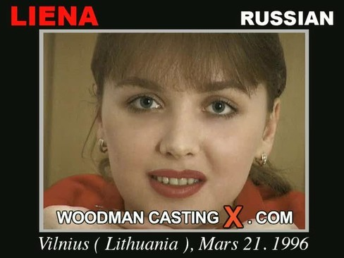 Liena - `Liena casting` - by Pierre Woodman for WOODMANCASTINGX