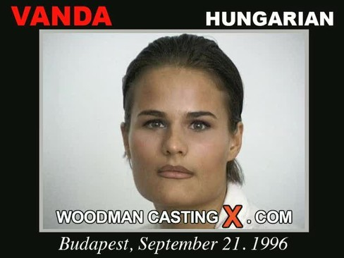 Vanda - `Vanda casting` - by Pierre Woodman for WOODMANCASTINGX