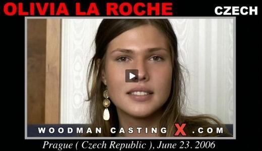 Olivia La Roche - `Olivia La Roche casting` - by Pierre Woodman for WOODMANCASTINGX