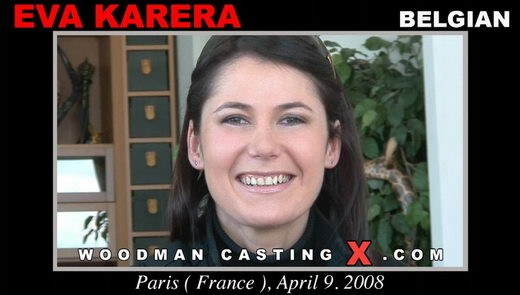 Eva Karera - `Eva Karera casting` - by Pierre Woodman for WOODMANCASTINGX
