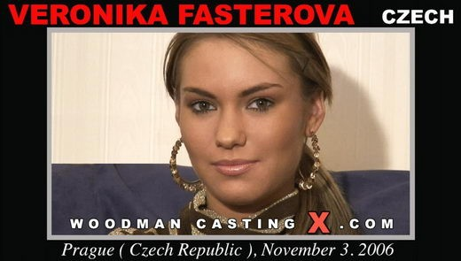 Veronika Fasterova - `Veronika Fasterova casting` - by Pierre Woodman for WOODMANCASTINGX