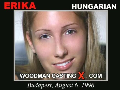 Erika - `Erika casting` - by Pierre Woodman for WOODMANCASTINGX