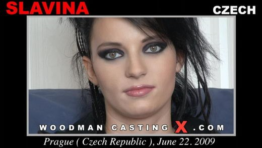 Slavina - `Slavina casting` - by Pierre Woodman for WOODMANCASTINGX