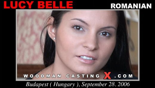Lucy Belle - `Lucy Belle casting` - by Pierre Woodman for WOODMANCASTINGX