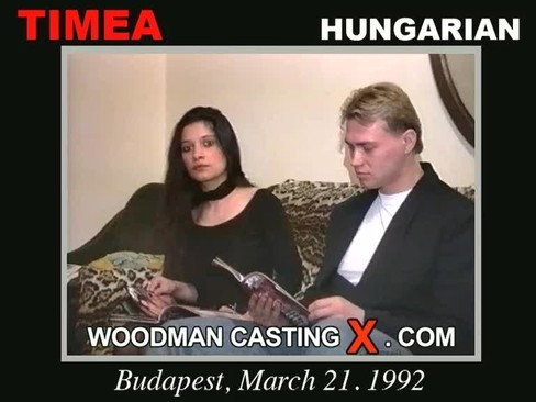 Timea and Bob t - `Timea and Bob t casting` - by Pierre Woodman for WOODMANCASTINGX
