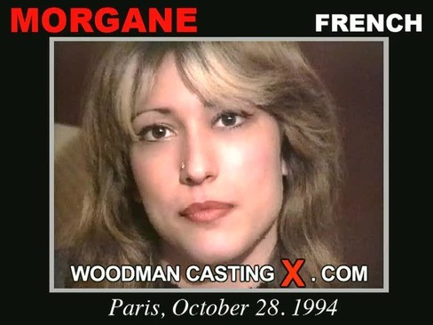Morgane - `Morgane casting` - by Pierre Woodman for WOODMANCASTINGX