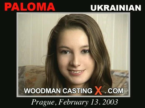Paloma - `Paloma casting` - by Pierre Woodman for WOODMANCASTINGX