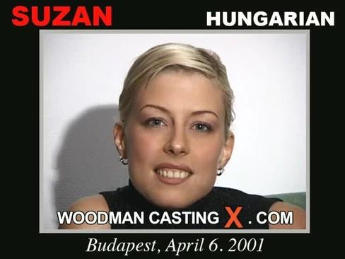 Suzan - `Suzan casting` - by Pierre Woodman for WOODMANCASTINGX