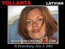 Yollanta casting video from WOODMANCASTINGX by Pierre Woodman