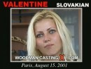 Valentine casting video from WOODMANCASTINGX by Pierre Woodman